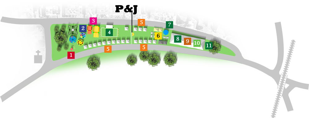 Map of the Green